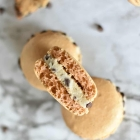 How to Make Cookie Dough Macarons