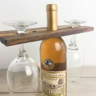 How to Make a Small Wine Butler from Scrap Wood