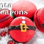 Santa Macarons Recipe