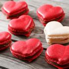 Heart Macarons Recipe - Cute Valentine Macarons