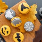 Jack-O-Lantern Macarons Recipe