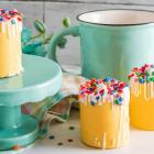 Birthday Cake Hot Cocoa Shots