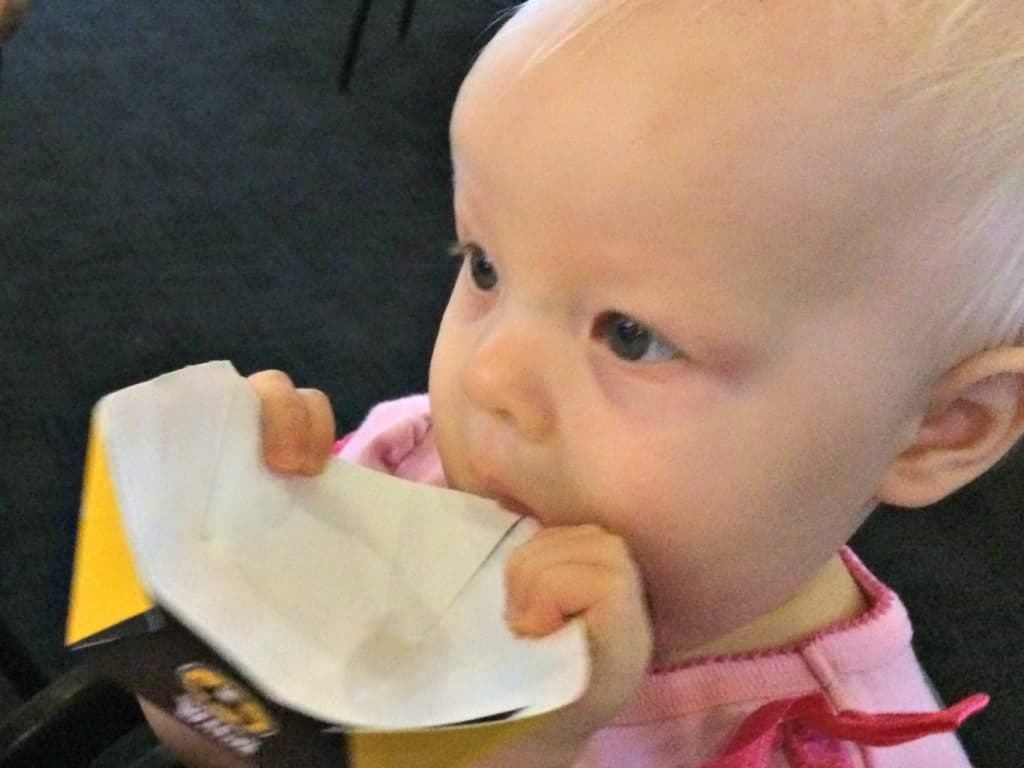 Eating-out with a 1-year old with allergies