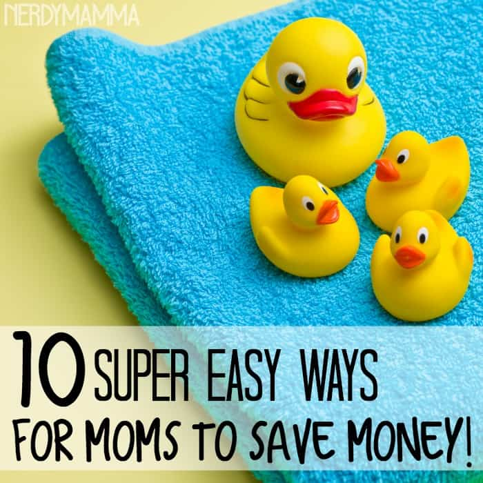10 super easy ways for moms to save money