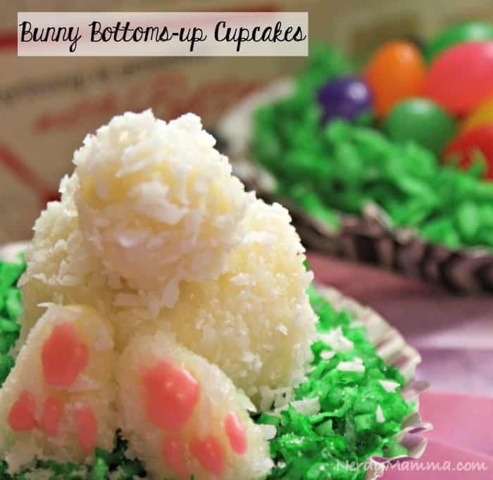 Bunny Butt Cupcake Pin