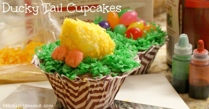 Duck Tail Cupcake FB