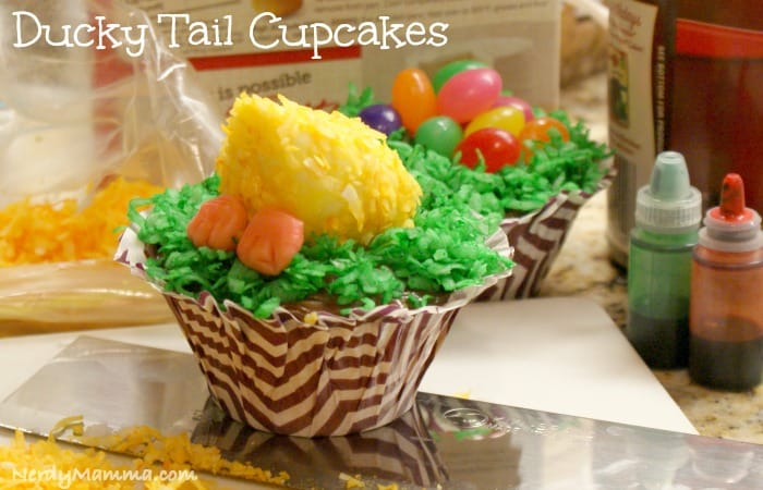 Duck Tail Cupcake Feature