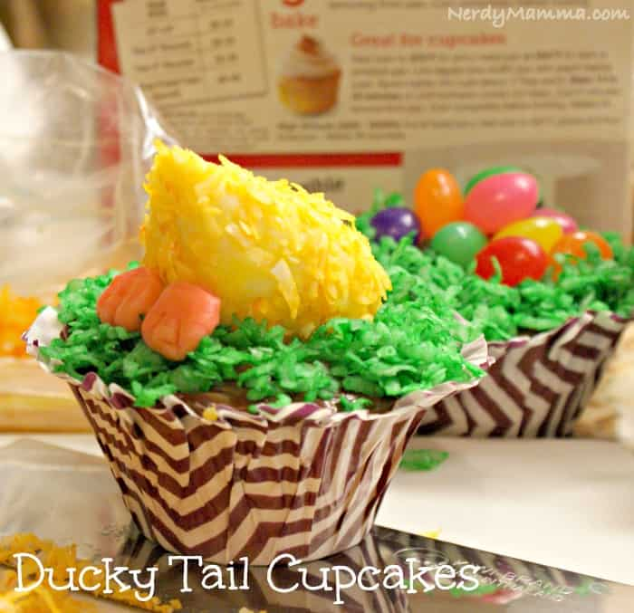 Duck Tail Cupcake Pin2