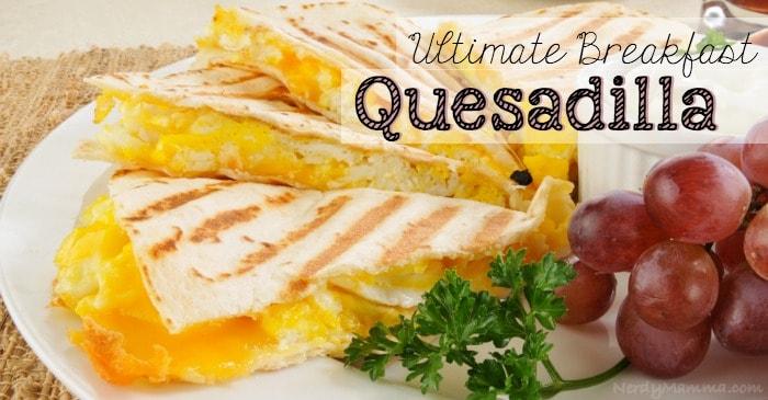 Breakfast Quesadilla FB