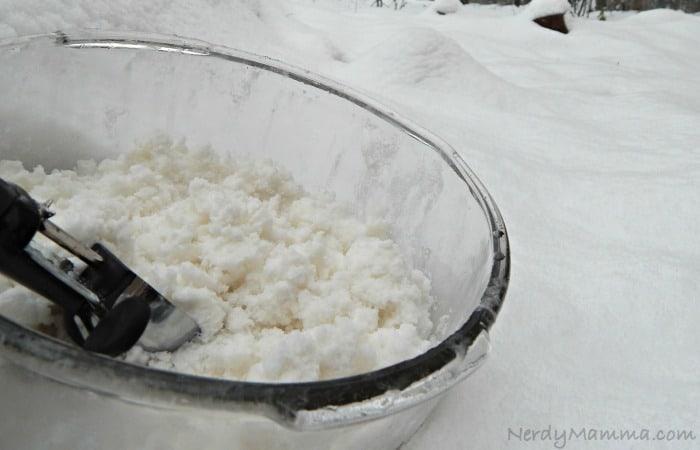 Dairy Free Snow Ice Cream