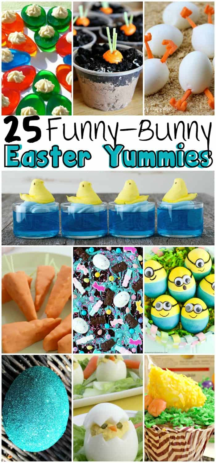 Silly Easter Treats and Snacks