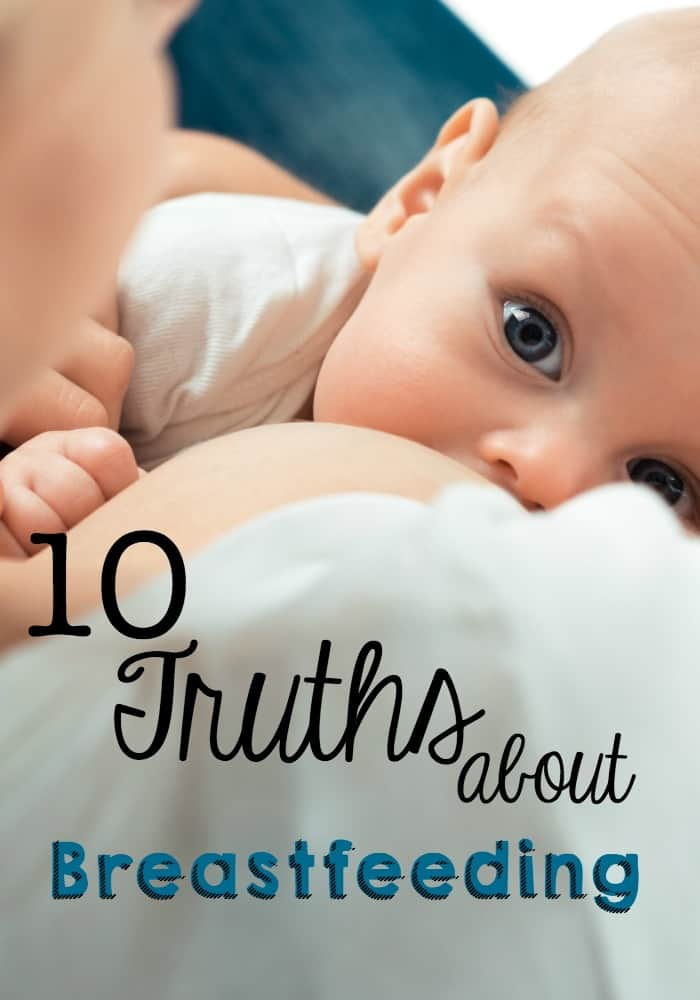 truths about breastfeeding pin