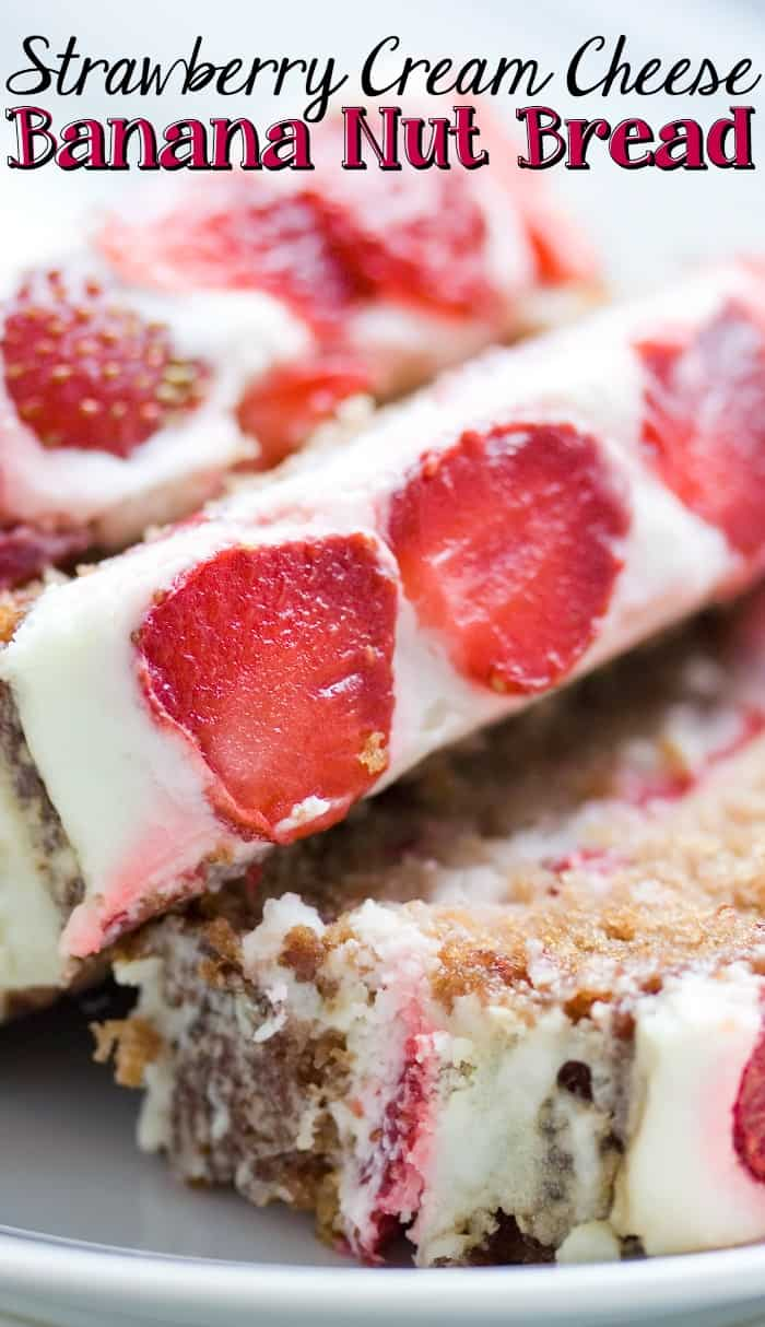 easy breakfast strawberry bread pin