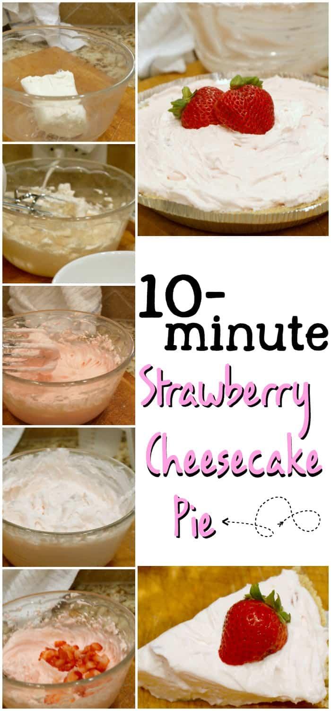 quick dessert recipe cheesecake pin