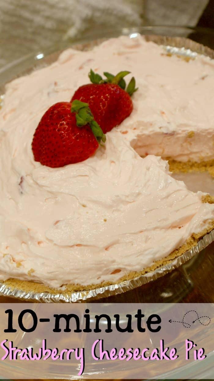 strawberries in cheesecake pin