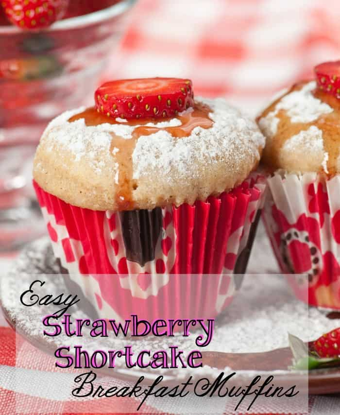 strawberry breakfast recipe pin