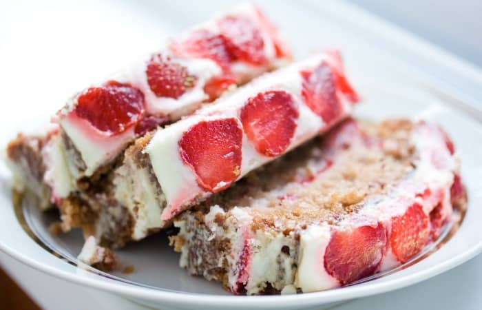 Strawberry Cream Cheese Banana Nut Bread