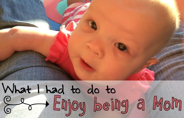 how to enjoy being a mom feature