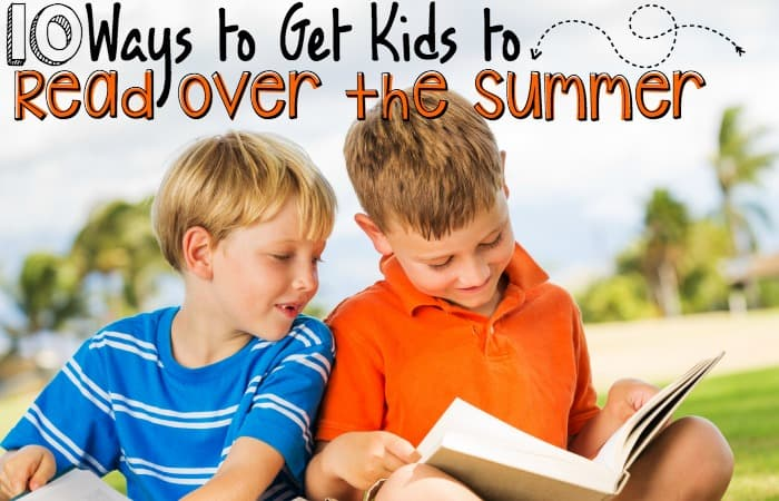keep kids interested in reading over the summer feature