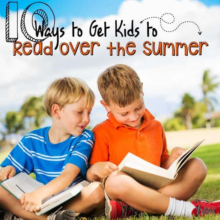 make children read over the summer sq