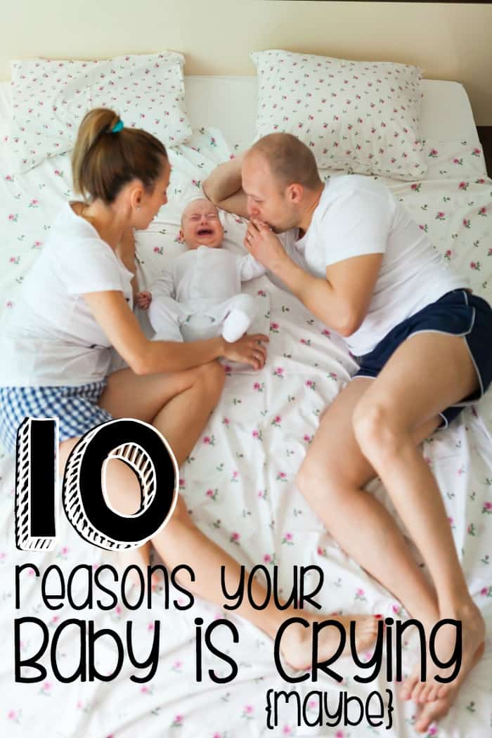 reasons why your baby won't stop crying pin