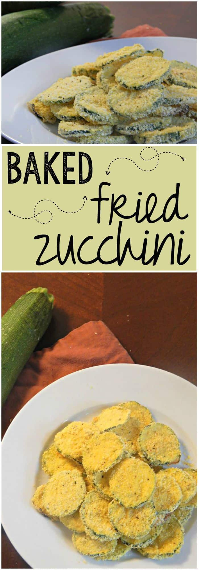 A healthy way to fry zucchini - Oh my yum