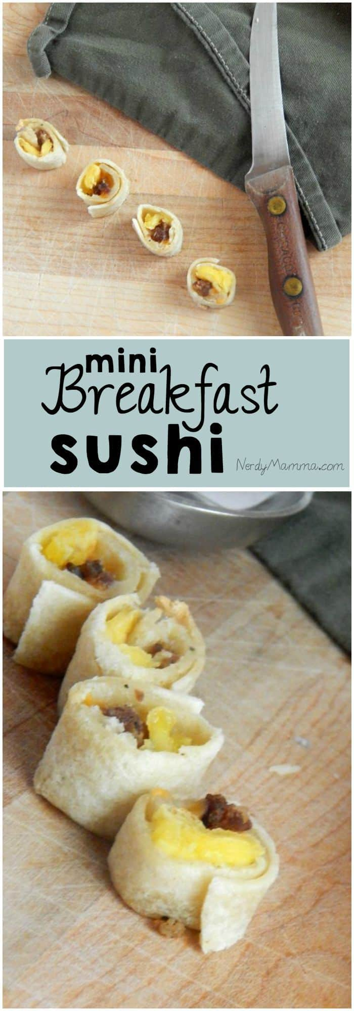 I love this creative use for breakfast leftovers for kids lunch boxes.