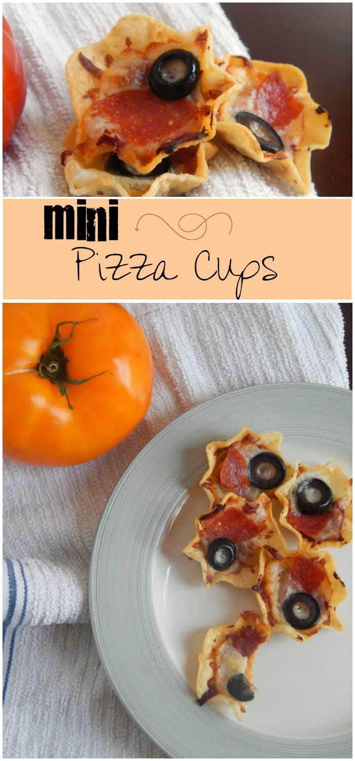These mini-Pizza Cups are the easiest lunch idea for kids