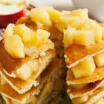 apple and cinnamon pancake recipe feature