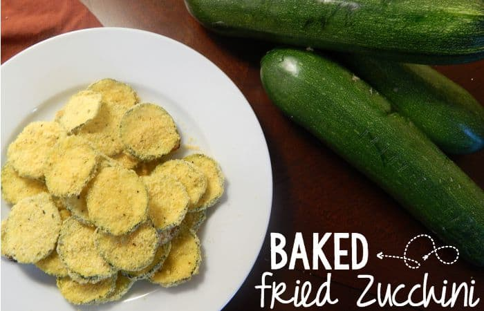 baked zucchini that tastes fried
