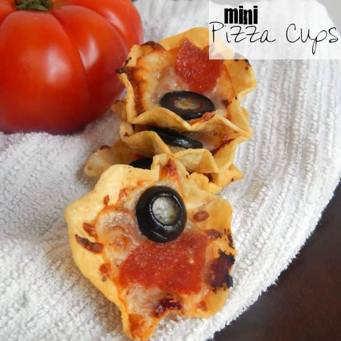 easy pizza lunch idea for kids sq