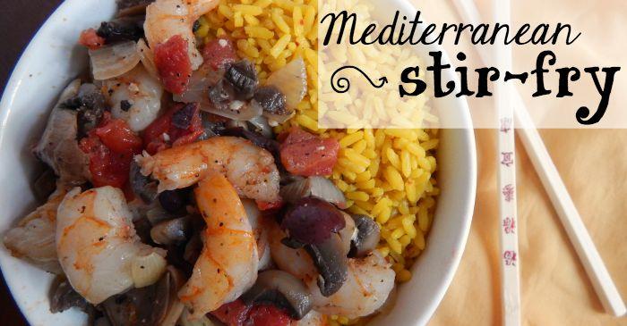 easy shirmp stir-fry idea fb