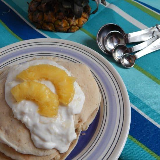 fun pina colada recipe for pancakes fg