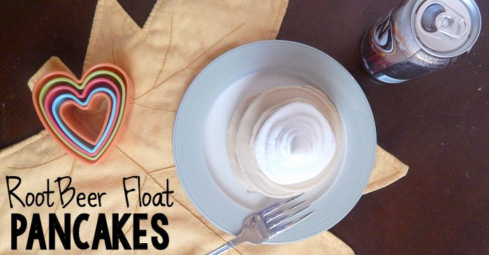 root beer float pancake recipe fb
