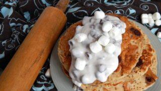 vegan smores pancake recipe feature