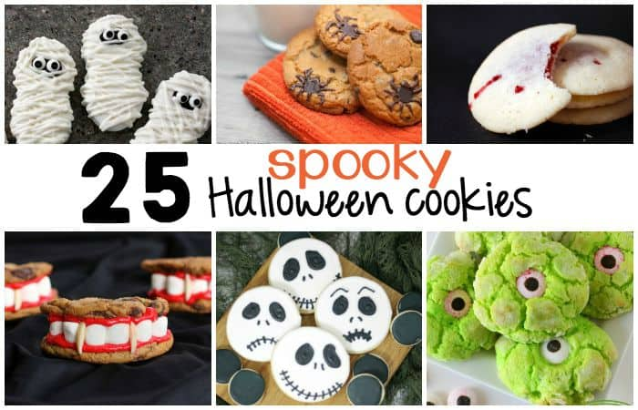 25 spooky halloween cookie reicpes feature