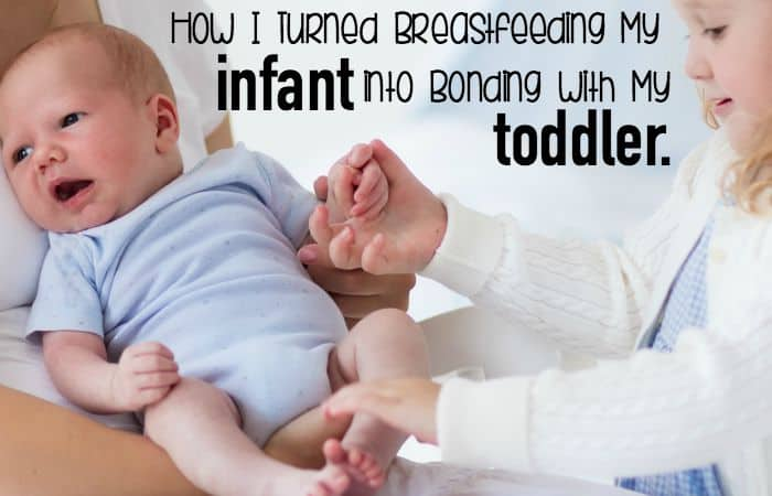 How I Turned Breastfeeding My Infant into Bonding with My Toddler feature