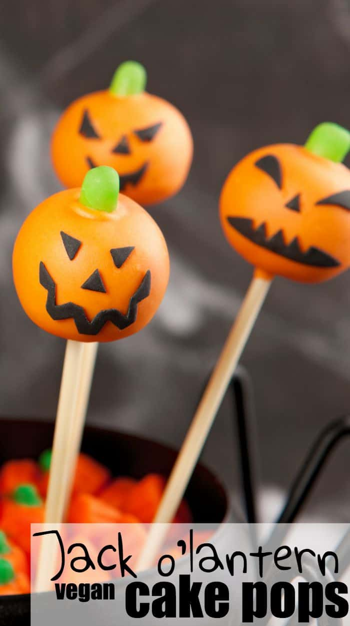 I can't wait to surprise my kids with these carved pumpkin cake pops!