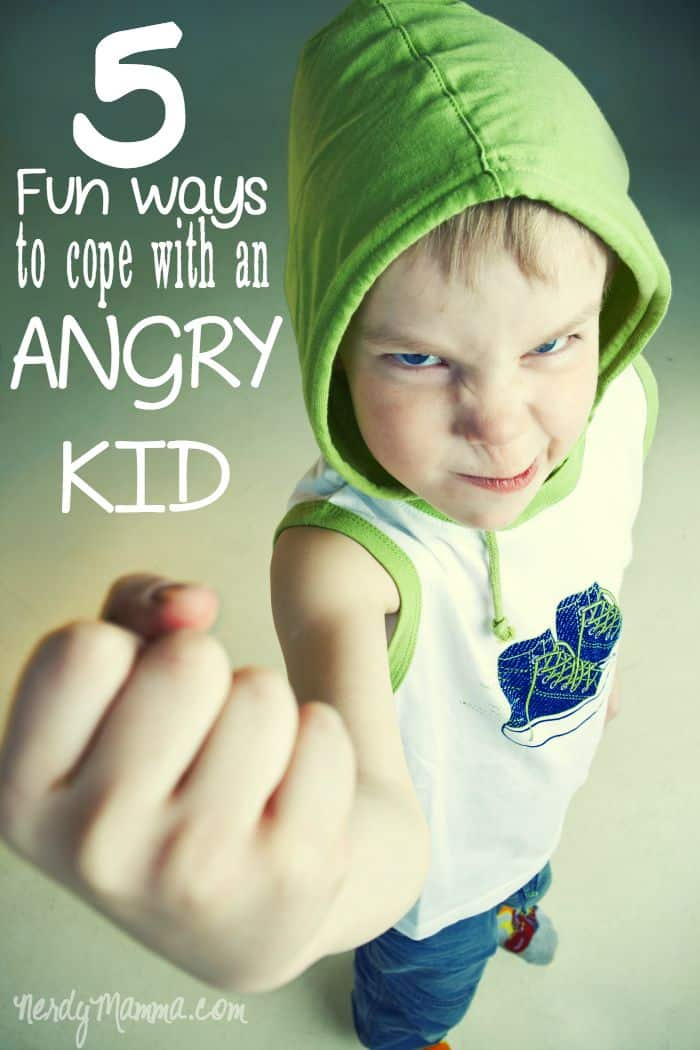 I know it's wrong, but, to keep your sanity, sometimes you just have to laugh. These fun ways to help you cope with an angry child will totally make you laugh...just a little.