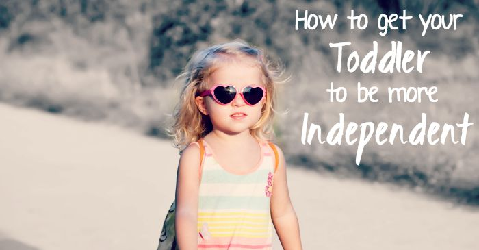 I want my toddler to be more independent but don't know how to fb