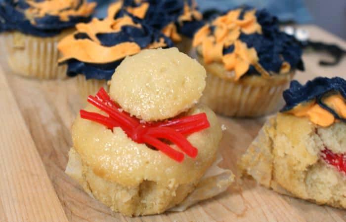 Spider Surprise Cupcake Recipe feature