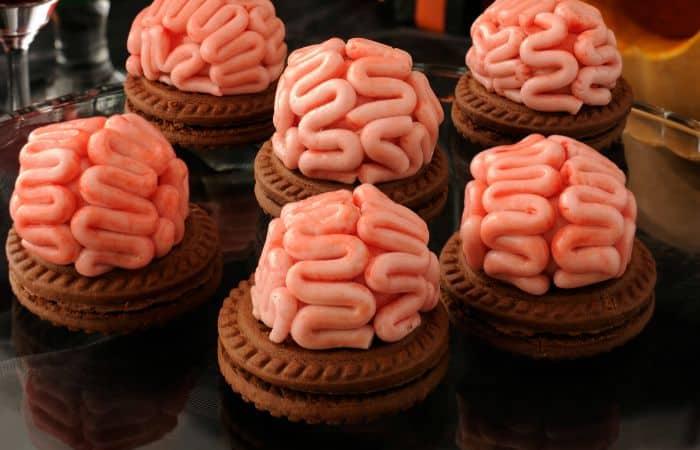 Zombie Brain Cookies