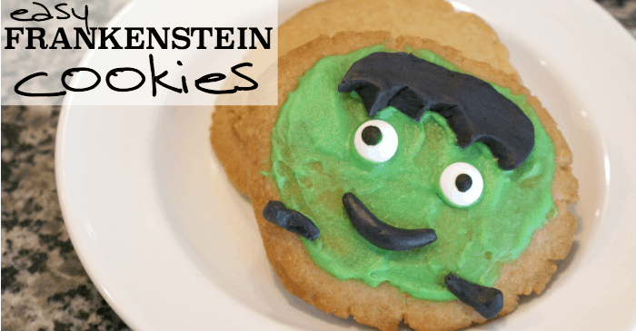 Easy Frankenstien Cookies