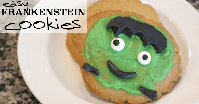Easy Frankenstien Cookies