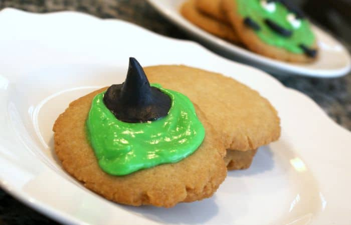 Easy Melted Witch Cookies