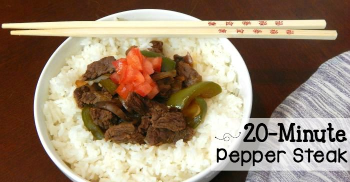 easy pepper steak recipe fb