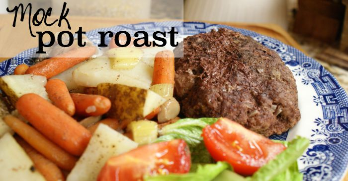 easy pot roast with ground beef fb