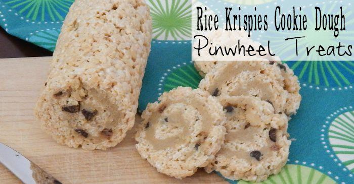easy way to dress-up rice krispies treats fb