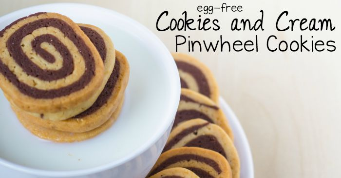 egg-free cookies and cream pinwheel cookies fb