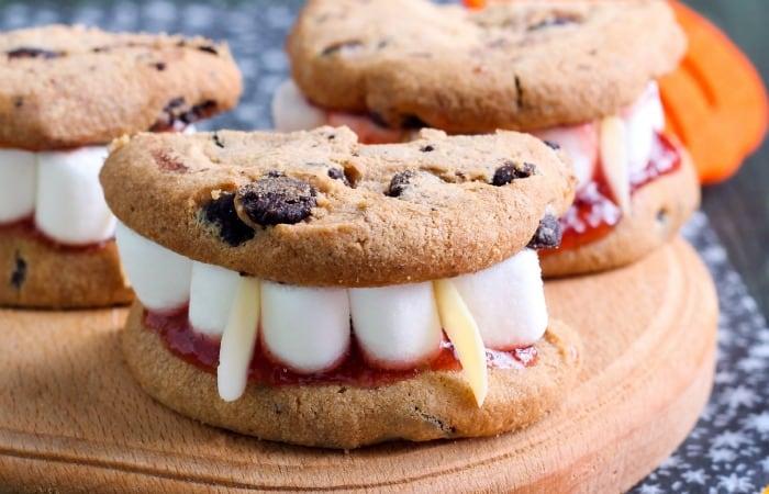 super-fast vampire dentures cookies feature
